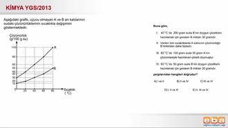 2013 YGS- Çözünürlük Hesaplamaları izle