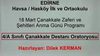 18 Mart Çanakkale Destanı Oratoryosu izle