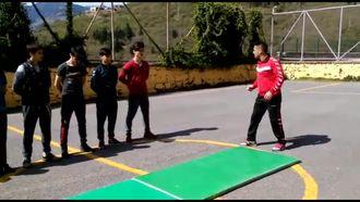 Trabzon Maçka ÇPAL Beden Eğitimi Ense Kipesi izle