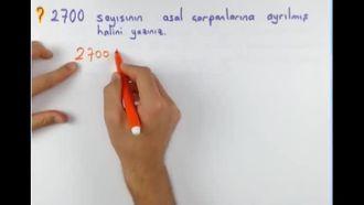 8. Sınıf Matematik 1. Dönem 1. Yazılı Hazırlık izle