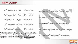 2014 LYS- Pil Potalsiyelleri ve Kendiliğinden Gerçekleşen Tepkimeler izle
