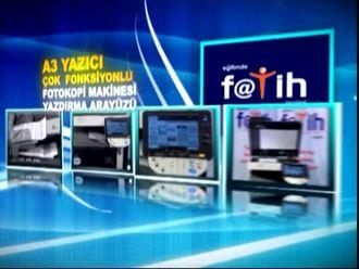 A3 Çok Fonksiyonlu Yazıcı - Fotokopi Makinesi Arayüzü (Fatih Projesi) izle