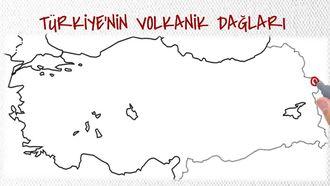 Türkiye'nin Volkanik Dağları izle