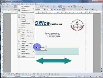 Libre Office Kelime İşlemcide Görsel Ekleme izle