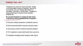 Paragrafta Anlam (YGS 2017- Türkçe) izle