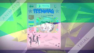"""""""Teenmag"""" adlı eTwinning Projemizin Özet Videosu izle"""