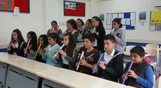 7.Sınıflar üç Sesli Kanon Çalışması izle