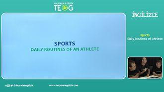 Daily Routines of Athlete izle