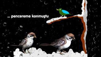 Mini mini bir kuş - Çocuk şarkısı ( Karaoke - enstrumantal ) izle