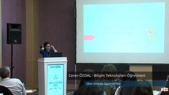 FATİH ETZ 2016 :  Ceren ÖZDAL - Bilişim Teknolojileri Öğretmeni- Siber Zorbalık Eği... izle