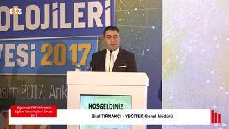 FATİH ETZ 2017 : Bİlal TIRNAKÇI - YEĞİTEK Genel Müdürü izle