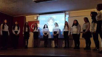 Seyhan ÇEP Mesleki ve Teknik Anadolu Lisesi Öğretmenler günü kutlaması izle