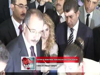Eğitim ve Öğretimde Yenilikçilik Ödülleri Sahiplerini Buldu (26.09.2012) izle