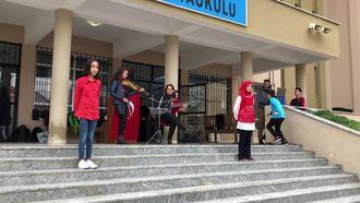 BENİM ADIM ÖĞRETMEN ŞARKISI ve İŞARET DİLİ Muğla/FETHİYE Çamköy Ortaokulu 24 K... izle