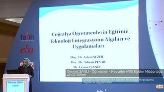FATİH ETZ 2016 :  Dr. Cennet ŞANLI - Öğretmen - Nevşehir Milli Eğitim Müdürlüğü... izle
