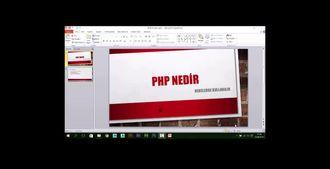 PHP İLE WEB PROGRAMLAMA  -  Php Nedir izle