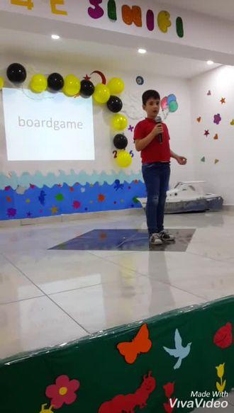 Ünye  Anafarta ilkokulunda Spelling Bee izle