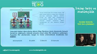 Hocalar Sınavda TEOG Soru Çözümleri izle