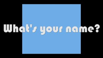 what's your name? izle