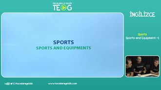 Sports and Equipment, 1 izle