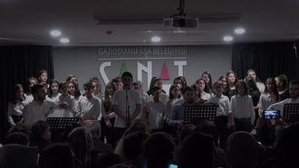 Dobruca Ortaokulu Türk Musikisi Korosu Konseri izle