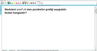 Parabolün Grafiğinin Çizimi Ve Doğru İle Parabolün Ve İki Parabolün Durumları 2 -... izle