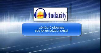 AudaCity Ses Programı Kullanımı izle