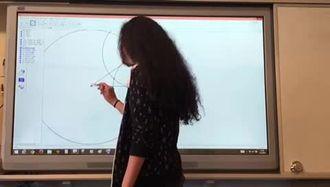 Geogebra ile açıortay inşası 4. Video izle