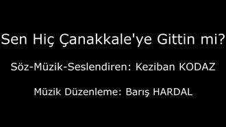 Türk Sanat Müziği Eseri/Güfte, Beste ve Seslendiren: Keziban Kodaz/Sen Hiç Çanakkale... izle