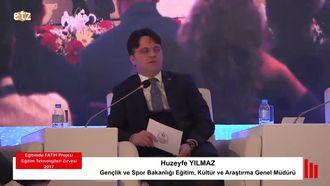 FATİH ETZ 2017 : Huzeyfe YILMAZ - STEM Paneli izle