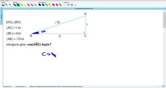 Dik Üçgende Trigonometrik Oranlar - 11.sınıf (2017) - 15.hafta - Soru - 4 izle