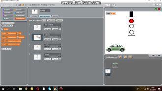 Scratch Trafik Işıkları Uygulaması izle