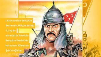 Sultan Birinci Kılıç Arslan izle