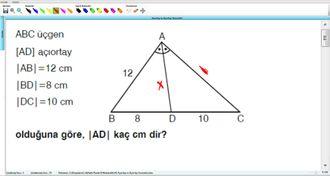Açıortay Ve Açıortay Teoremleri 6 - EBA BİLİŞİM ORHAN BEY izle