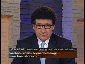 Artvin İl Milli Eğitim Müdürü Mustafa YANMAZ Bonus Hoca´ nın Canlı Yayın Konuğu ... izle