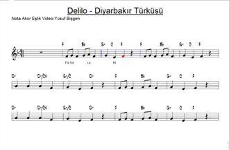 Nota Akor Eşlik - Delilo - Blok Flüt & Melodika izle