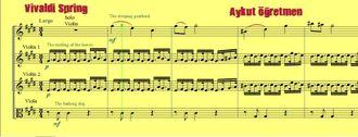 Vivaldi Spring Quarted Keman Virtüözü İtalyan olup Kızıl Papaz Lakabı Vardır Mevsi... izle