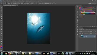 photoshop: düzeltme fırçası aracı izle