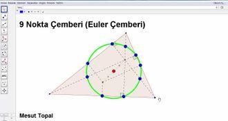Geometri Teorem ve İspatları - 9 Nokta Çemberi - Feuerbach Çemberi (Mesut Topal) izle