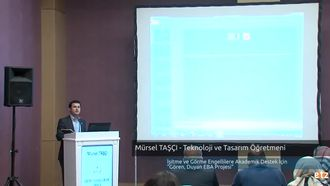 Mürsel TAŞÇI - İbrahim ÖZKAL - Bilişim Teknolojileri Öğretmeni  - İşitme ve Gör... izle