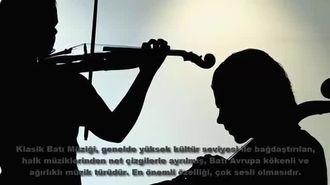 klasik müzik tanıtımı ve çalgıları izle