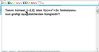 Parabolün Grafiğinin Çizimi Ve Doğru İle Parabolün Ve İki Parabolün Durumları 10 ... izle