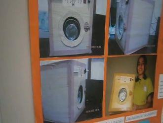 Çift Tamburlu Çamaşır Makinesi izle