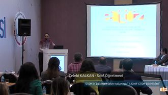 FATİH ETZ 2016 :  Çelebi KALKAN - Sınıf Öğretmeni- STEM 'in Eğitimde Etkin Kullan... izle