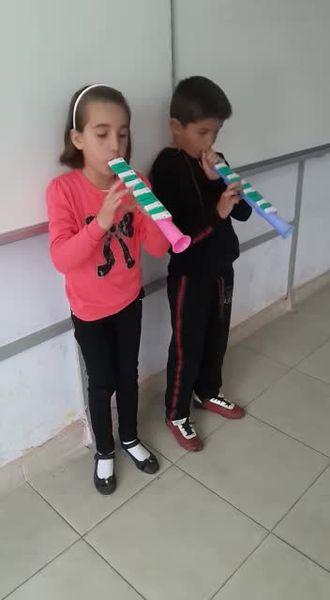 Paşaköy 4/A sınıfı melodika çalışmaları izle