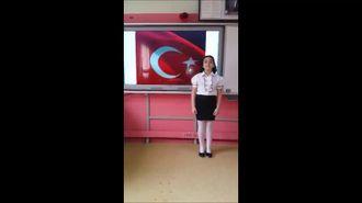 İşaret Dili ile İstiklal Marşı izle