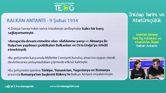 Balkan Antantı izle