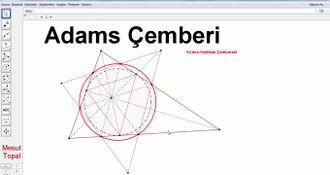Geometri Teoremleri ve İspatları -  Adams Çemberi (Mesut Topal) izle