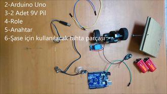 Uzaktan Kumandalı Arabanın Motorunu Arduino Projelerinde Kullanma izle