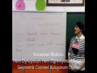 Geometrik Şekilleri Buluyorum Oyunu izle